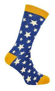 Mr Heron - Mens Star Patterned Socks | Novelty Bamboo Socks