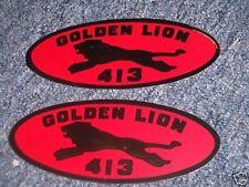 1959 CHRYSLER GOLDEN LION 413 VALVE COVER DECALS