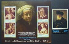 GUYANA 2006 Gemälde Paintings Rembrandt 7861-64 + Bl.806 ** MNH