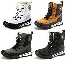 Damen Winter Schuhe Stiefeletten Warmfutter Boots Stiefel SD130