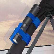 Roll Bar Mount Mag Flashlight Holder Straps-Blue fits Jeep Wrangler YJ TJ JK JL