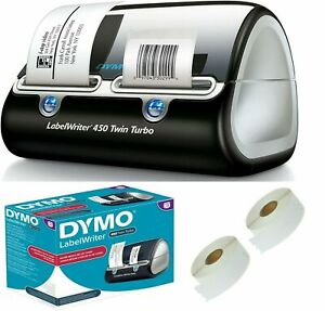 DYMO LabelWriter 450 Twin Turbo Dual Roll Label and Postage Printer for PC and M
