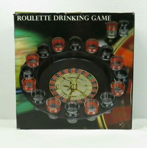 Roulette Shot Glass Drinking Game Adult Stag Hen Bachelor Bachelorette