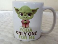 YODA ONLY ONE FOR ME 313ml Taza de Cerámica Regalo San Valentín Día de la madre