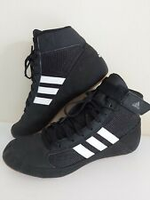 Boys girls ADIDAS size 4 Havoc Wrestling BOXING BOOTS Shoes Gym Trainers FREE PP