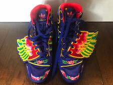 ADIDAS JEREMY SCOTT Easton Chan Wings Athletic Floral Chinese New Year MENS 4.5