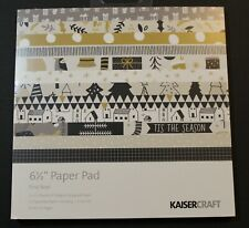 "Kaisercraft Craft Scrapbooking Paper Pad Christmas First Noel 6 1/2"" PP1053"