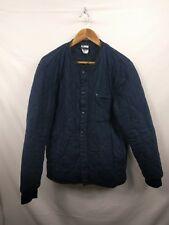 Mens H&M Navy Blue Bomber Harrington Jacket Size Medium #4I2