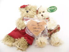 """The Bearington Bear Collection 1073 Sweet Blessings Twin Girl Bears 7"""" with Box"""