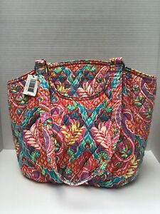 VERA BRADLEY  GLENNA Satchel Shoulder Bag PAISLEY IN PARADISE Purse ~~ NWT 🌺