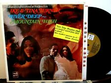 Ike & Tina Turner Lp River Deep Mountain High A&M Brown Label
