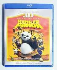 New Dreamworks 3D Blu Ray + DVD Kung Fu Panda Factory Sealed
