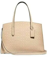 NEW AUTHENTIC COACH Charlie Carryall in Signature Leather #51728