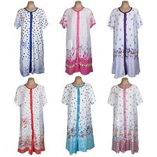 Women's Floral Nightgown Short Sleeve Button-Down Pajama Wholesale Lot 30 M-3XL