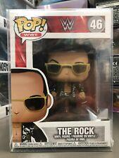 Funko Pop! Wwe Wrestling The Rock Figure #46 w/ Protector