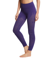 NEW Free People Movement Self-Hem Ecology Leggings Blue, Made in Italy $140.40