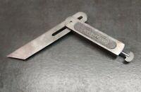 "*Vtg* Stanley 6"" No.18 - Sliding T-Bevel Square -USA carpentry hand tool"