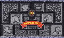 Genuine Nag Champa-Super Hit Incienso - 15g-Caja de 12 (Caja Completa)