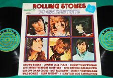 Rolling Stones - 30 Greatest Hits BRAZIL DOUBLE LP 1978 Som Livre