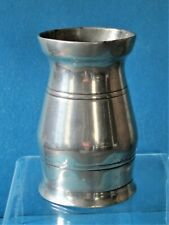 HANDLESS PEWTER GILL BALUSTER MEASURE; QUALITY MARK