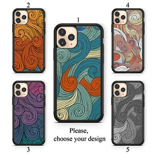 Vivid swirls case for Galaxy Note 10 9 8 and Google Pixel 4 3 3a XL TPU SN