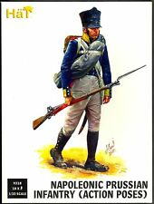 HAT 9318 1/32 NAPOLEONIC PRUSSIAN INFANTRY ACTION 18 Plastic Figures FREE SHIP