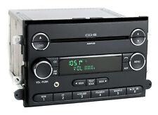 Mercury Milan 06-09 Ford Fusion AM FM 6 Disc CD Radio w Aux Input 8E5T-18C815-AF