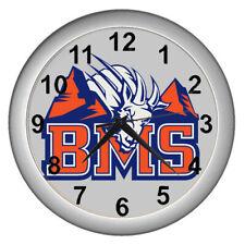 2020 Blue Mountain State Bms The Mountain Goats Logo Wall Clock