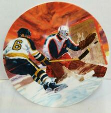 Vintage Hockey 1985 Avon Collectible Moments Of Victory Plate Collection   NEW