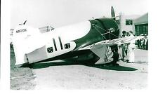 GEE BEE #11 (NR2100) AIRPLANE - FROM VINTAGE NEGATIVE 5 x 7  B & W  PHOTOGRAPH