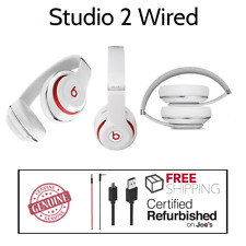 Beats By Dr. Dre Studio 2 2.0 Noise Cancellation WIRED Headphones White