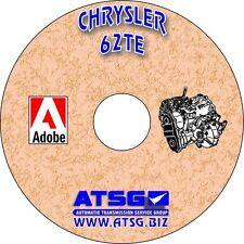 ATSG 62TE Transmission Rebuild Book Transaxle Service Manual Overhaul Chrysler