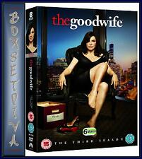 THE GOOD WIFE - COMPLETE SEASON 3 - THIRD SEASON ***BRAND NEW DVD***