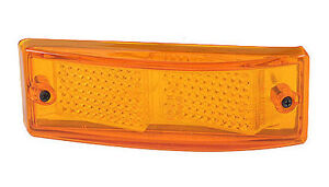 Porsche Side Marker Lens, Amber, Reproduction, 911/912E/930 74-89