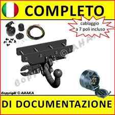 Gancio Traino Rimovibile VAUXHALL COMBO C 2002//2012 7-pin KIT ELETTRICO