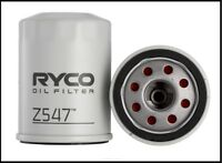RYCO OIL FILTER - Z547 - TWO PACK (SPECIAL DEAL)
