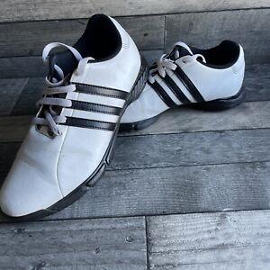 Adidas White Golf Shoes - Size 7 UK