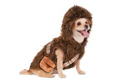 New Star Wars Chewbacca Wookiee Pet Dog Cat Halloween Costume small size