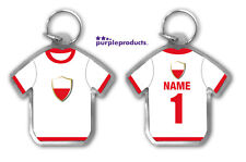 Personalised POLAND 2018 World Cup Football Team Supporters Keyring