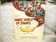 Scott Magic World of Stamps Album 1972 Never Used