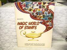 Scott Magic World of Stamps Album 1972 Never Used