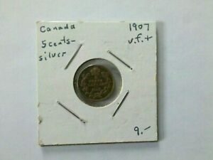 Canada 1907 5 Cents