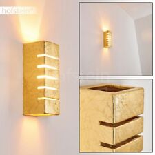 Applique murale Up/Down Lampe de séjour Lampe de bureau dorée Lampe de corridor