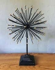 Vintage Metal Art Sculpture MCM Atomic Pom Sea Urchin Curtis Jere Era Style