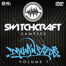 Drum & bass VOL 1-Studio de 24bit wav / échantillons de production musicale-DVD