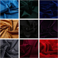 1M Thick Velvet Fabric for Dress Cloth Upholstery Background DIY Cushion Craft