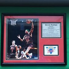 RARE Dennis Rodman Chicago Bulls Basketball NBA Player Sport Photo Picture 2A84