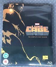 Luke Cage Netflix Season 1 Blu Ray Steelbook [UK] Sealed New Mint Marvel MCU