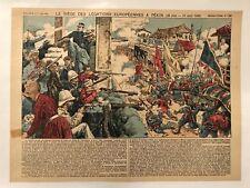LE SIÈGE DES LÉGATIONS EUROPÉENNES A PÉKIN (20 JUIN-15 AOUT 1900)