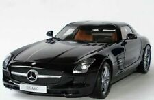 1/18 Minichamps Mercedes-Benz SLS AMG (Obsidian Black Metallic) Dealer Edition